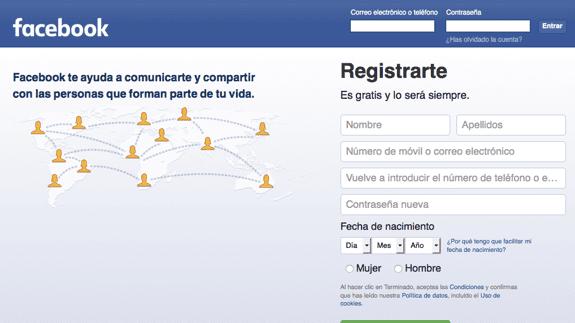 Descubrir si alguien ha entrado con tu cuenta de facebook